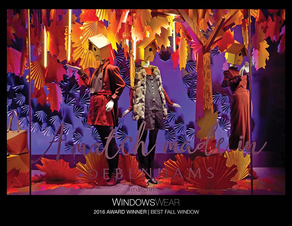 WINDOWSWEAR-AWARDS-2016-DEBENHAMS_BEST FALL WINDOW