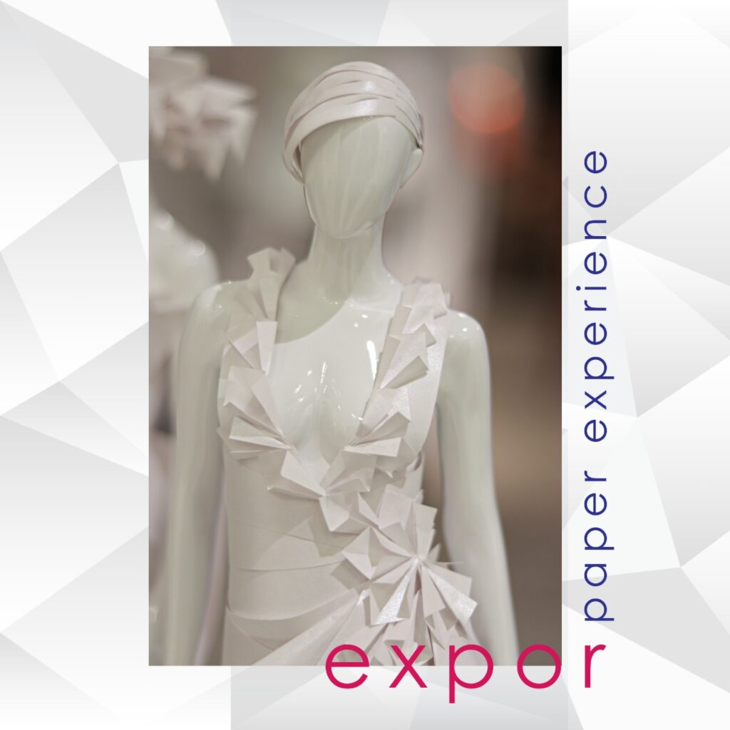 Desfile virtual no showroom da Expor Manequins