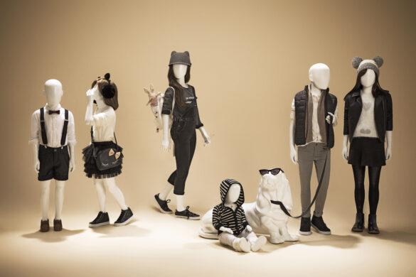 Diversos manequins infantis by Expor Manequins